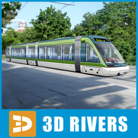 Milan new tramway by 3DRivers