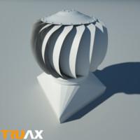 Truax Studio Roof Vent