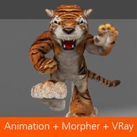 morpher 3d model