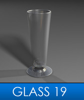 pilsner glass 3d model