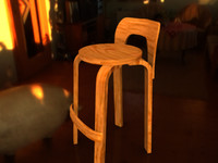obj chair stool