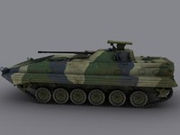 BMP2 Russian APC Game Ready Model
