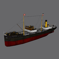 german ss norderney 3d model
