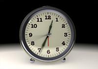 alarm clock 3d lwo