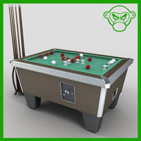 bumper pool table 3d 3ds