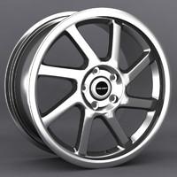 3d falken hanabi wheel model
