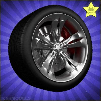 Car wheel 033
