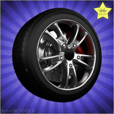 Car wheel 097
