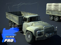 3 x GAZ Heavy Russian Militry Truck KIT