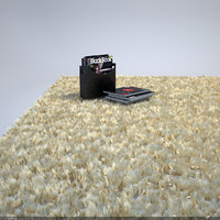 3d fluffy carpet