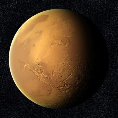 model of planet mars - photo #5