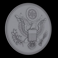 united states national emblem 3d 3ds