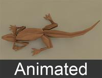 origami paper 3d model