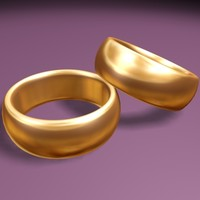 wedding ring 3d model