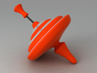 3d whirligig toy model
