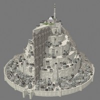 Lowpoly - Minas Tirith
