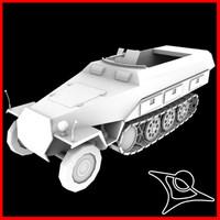 3d model panzer