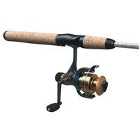 3d fishing rod
