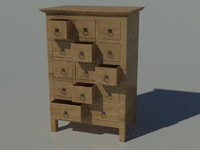 furniture wood 3d max