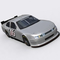 3d model 2010 nationwide nascar cot