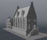 building 2 brugge 3d model