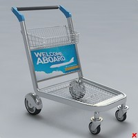 3ds max cart