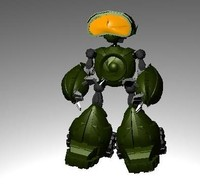 3ds max robot beta