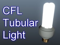 3d cfl light bulb