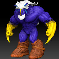3ds max maxx comic character man