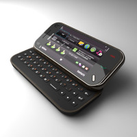 nokia n97 mini communicator 3d 3ds