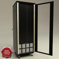 server rack v3 3d model