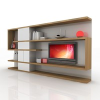 TV / Wall Unit Modern Design X_04 Home Media Center