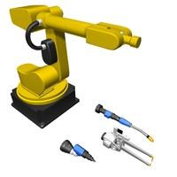 3d model robot tools