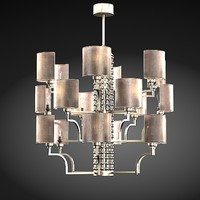 3d baga bespoke chandelier model