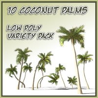 3ds max coconut palm tree 10