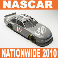 3d nascar nationwide 2010