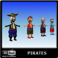 cartoon pirates 3d 3ds