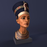 bust nefertiti 3ds