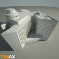 maya truax studio hotel building