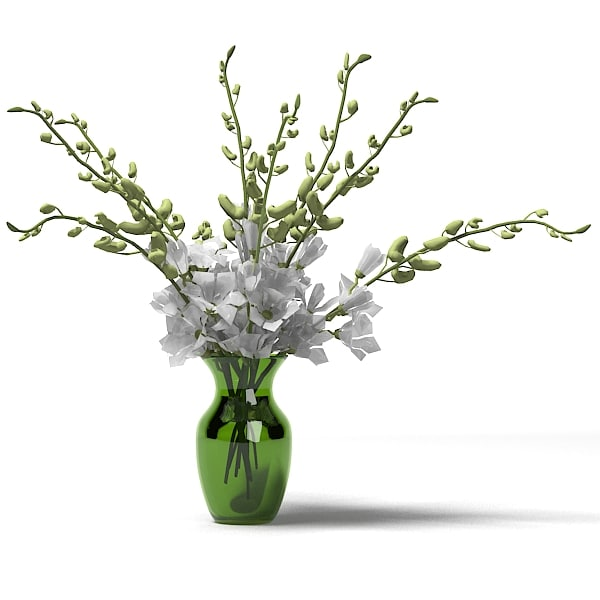 serenity orchid bouquet flower