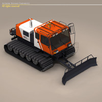 bres400 snowcat snow 3d 3ds