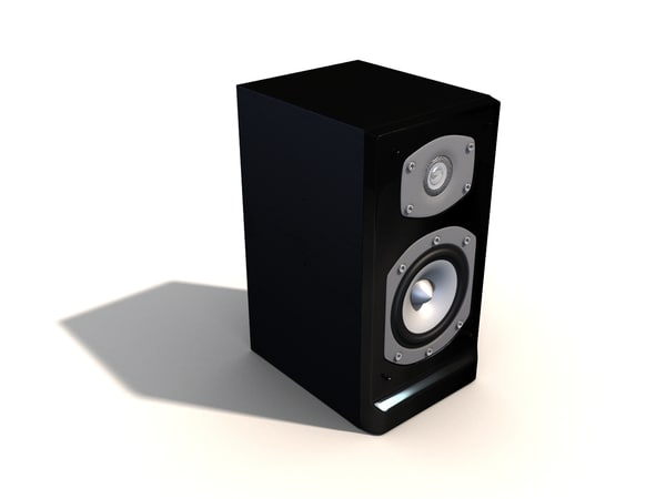 speaker 3d obj - Speakers... by ailamvnn