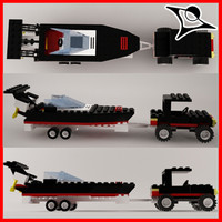 Lego Car&Boat
