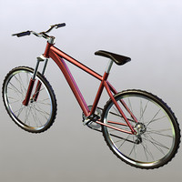 3ds max bicycle sports
