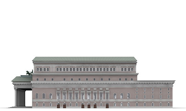 bolshoi theatre 3ds - Bolshoi Theatre... by sighty