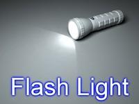 led flash light 3d max