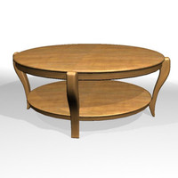 3d coffee table model