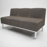 3d tweed sofa seat