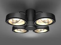 3d model spot lighting 4xar111