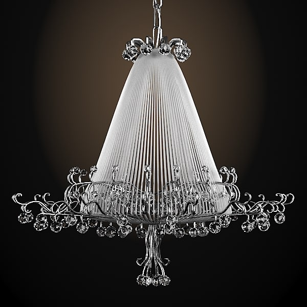 baga contemporary cryastal glass chandelier